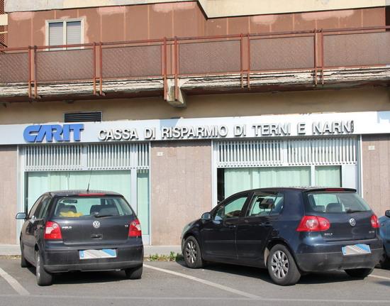Rapina alla Cassa di Risparmio di Terni e Narni di Orvieto Scalo