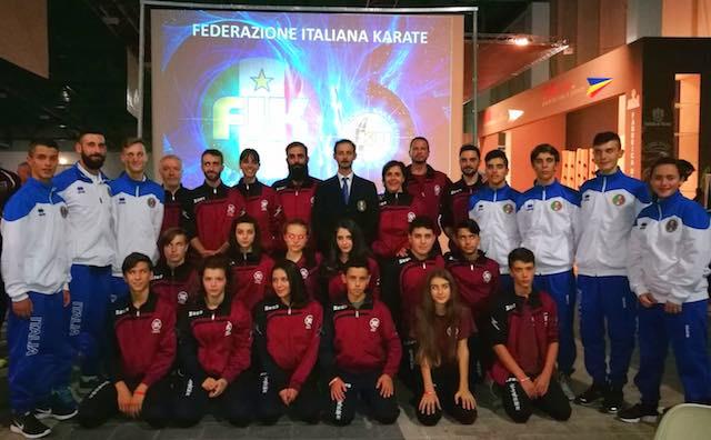 Karate, la Scuola Keikenkai in partenza per i Mondiali Iku a Kilkenny