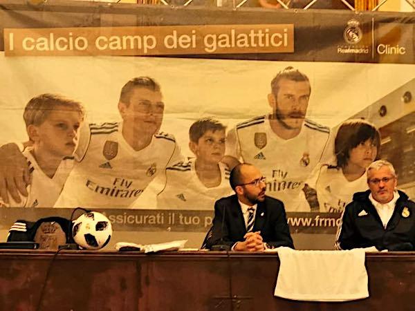 """Arriva il calcio del Real Madrid. """"Vogliamo dare occasioni di qualità ai nostri giovani"""""""
