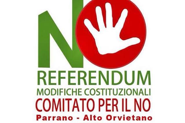 """""""Secondo noi è no"""". Incontro pubblico del Comitato per il No Parrano - Alto Orvietano"""