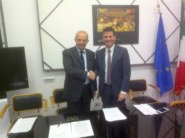 Firmato il nuovo contratto di servizio tra la Regione Umbria e Trenitalia