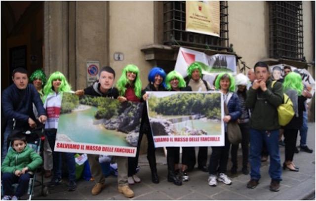 Iniziativa del comitato AdessoOrvieto per Matteo Renzi con il sindaco di Fabro Maurizio Terzino