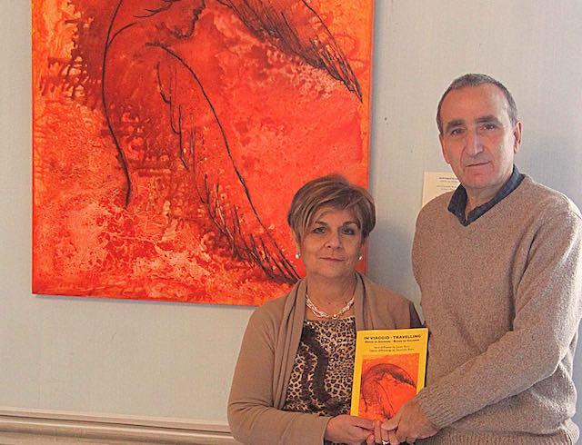 """""""In viaggio"""" con Laura Ricci e Salvatore Ravo. Versi e opere, per un itinerario di luce"""