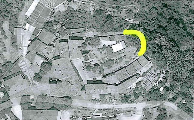 In aumento l'erosione della scarpata a Ripalvella, chiusa al transito la strada