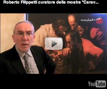 """Roberto Filippetti ci guida alla scoperta del """"cuore"""" della mostra """"Caravaggio, l'urlo e la luce"""""""