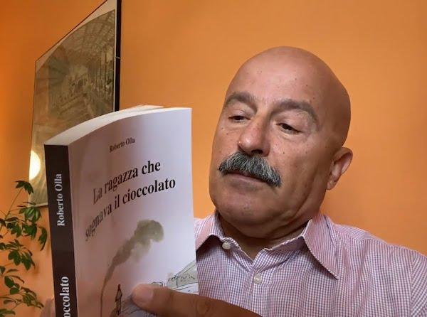 """Roberto Olla presenta online """"La ragazza che sognava il cioccolato"""""""