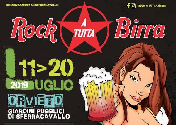 """""""Rock a tutta Birra"""", si parte. Dieci giorni di musica e gusto"""