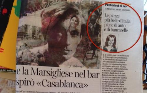 """Orvieto finisce sul Corriere della Sera: """"Le piazze più belle d'Italia piene di auto e di bancarelle"""""""