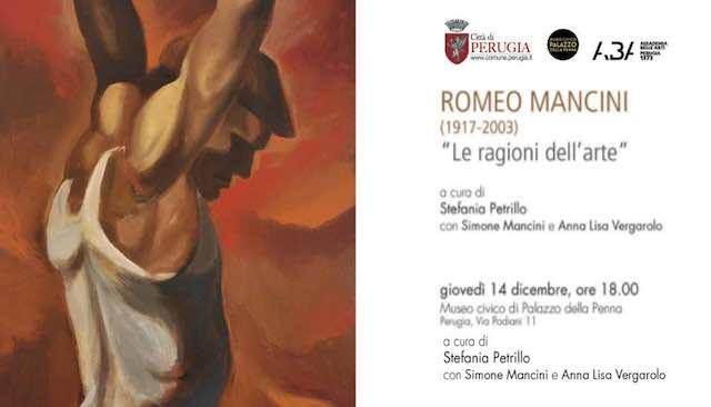"""I """"Pescatori notturni"""" di Romeo Mancini a Palazzo della Penna per """"Le ragioni dell'arte"""""""