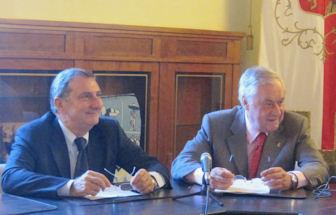 Finalmente siglato l'accordo finanziario tra Comune di Orvieto e Servizio Idrico Integrato