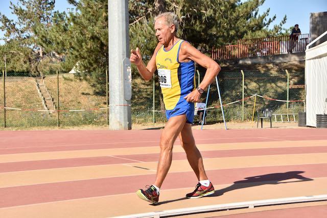Romolo Pelliccia, atleta che non ha età