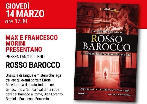 """Max e Francesco Morini presentano """"Rosso Barocco"""""""