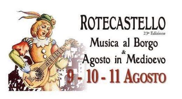 Musica al Borgo e Agosto in Medioevo a Rotecastello
