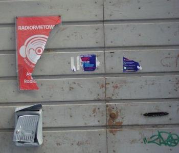 Distrutta la targa di Radio Orvieto Web