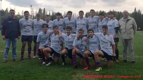 Fine settimana di alti e bassi per l'Orvietana Rugby