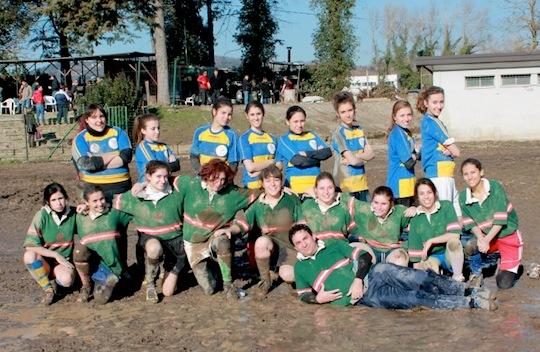 Presentata la prima squadra di rugby femminile a Orvieto. Già vinta la prima sfida, la prossima il 24 febbraio