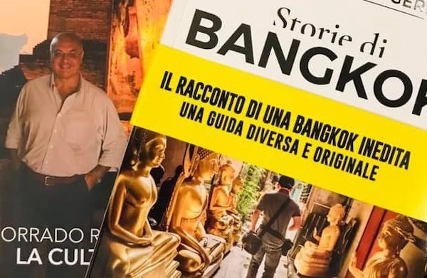 """Corrado Ruggeri presenta il libro """"Storie di Bangkok"""""""
