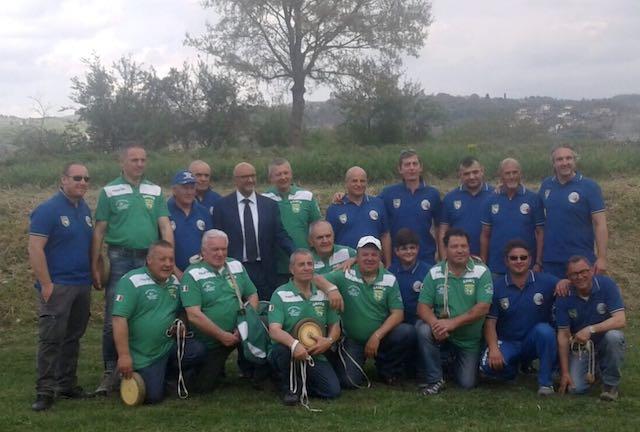 """In più di 150 per la """"Festa del Ruzzolone"""". Il sindaco Terzino: """"Orgoglioso di questo gruppo"""""""