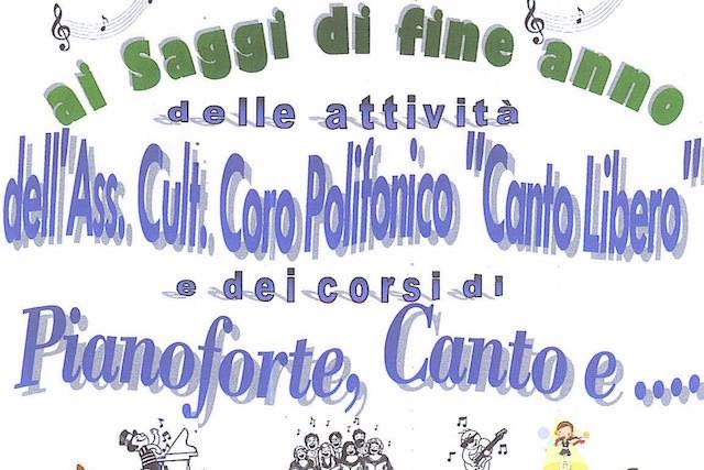 """La musica con entusiasmo e passione. Saggio dell'associazione """"Canto Libero"""""""