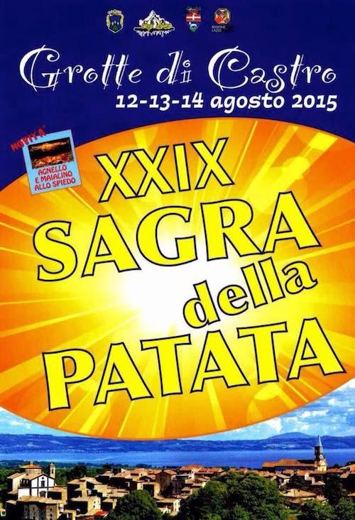 """Musica e sapori per la 29esima edizione della """"Sagra della Patata"""""""