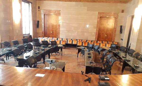 In Consiglio Provinciale, la nomina dei capigruppo