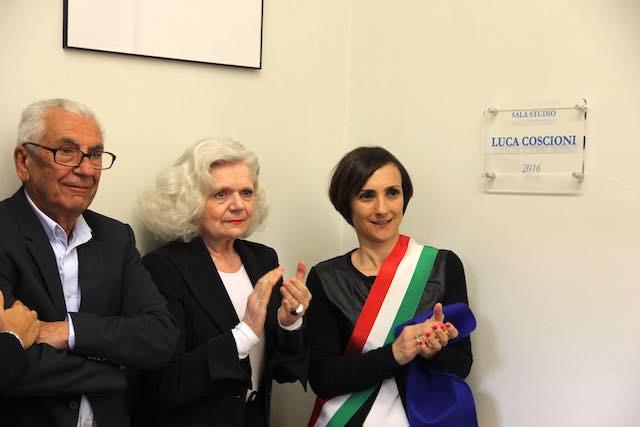 """Intitolata a Luca Coscioni, la """"Sala Studio"""" della biblioteca """"Fumi"""""""
