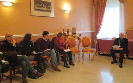 Comunicazione come autentica cultura dell'incontro. Riflessioni in margine all'incontro con il vescovo Benedetto Tuzia.