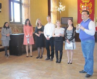 Tornano a Göttingen i 16 studenti tedeschi che hanno studiato a Orvieto la lentezza. Il saluto dell'amministrazione comunale