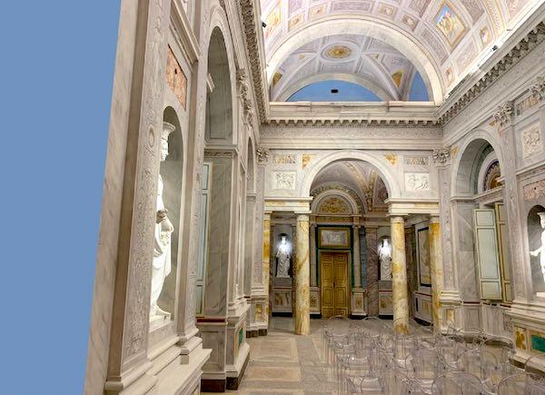 A Palazzo Bruschi Falgari torna agli antichi splendori il Salone delle Feste