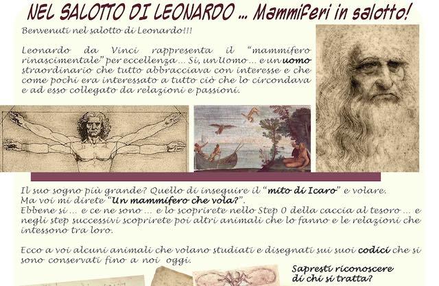 """""""Nel salotto di Leonardo"""". Mammiferi in volo al Museo del Fiore di Torre Alfina"""