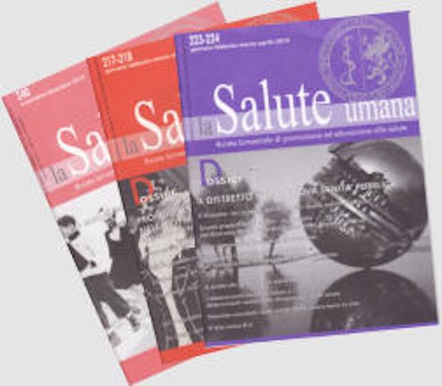 """La rivista """"La Salute Umana"""" pubblica la monografia curata dal Cersal"""
