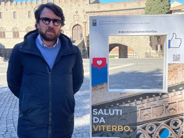 """""""Saluti da Viterbo"""". Quattro pannelli per la promozione social della Città dei Papi"""