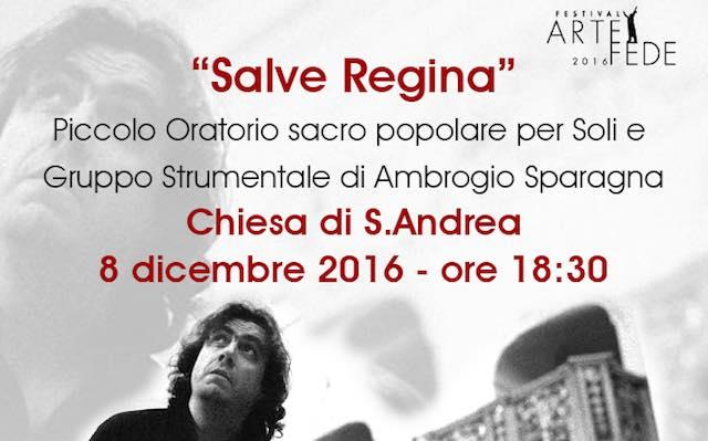"""""""Salve Regina"""", concerto a Sant'Andrea. Ricavato all'associazione """"3.36 per Barbara & Matteo"""""""