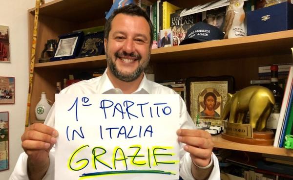 Europee a Orvieto, a metà dei seggi scrutinati la Lega prende il largo