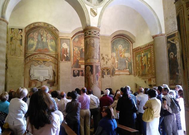 """Si presenta la guida """"The church of San Giovenale in Orvieto. Art and faith"""""""