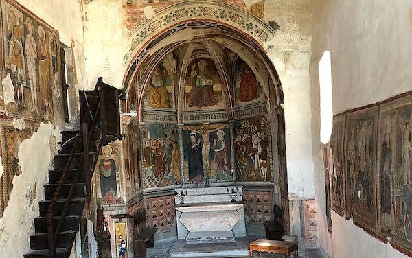 Restauro smart alla Chiesa di San Giovanni Battista. Realtà aumentata per una fruizione immersiva