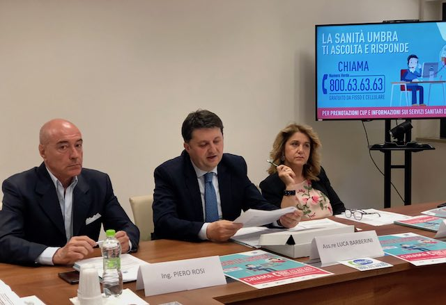 Numero Umbria Sanità, per abbattere le barriere tra il sistema sanitario e i cittadini