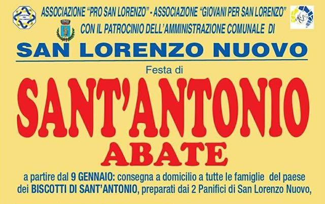 Tutto pronto per i festeggiamenti di Sant'Antonio Abate