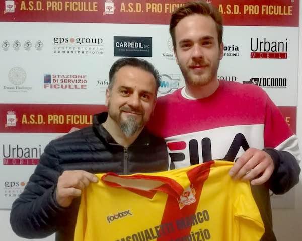 Sante Di Girolamo torna a indossare la maglia della Pro Ficulle