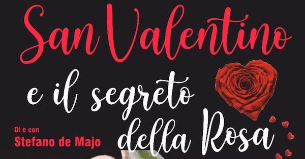 """L'attore Stefano de Majo e l'AssociazioneClaudio Conti insieme per """"raccontare"""" San Valentino"""