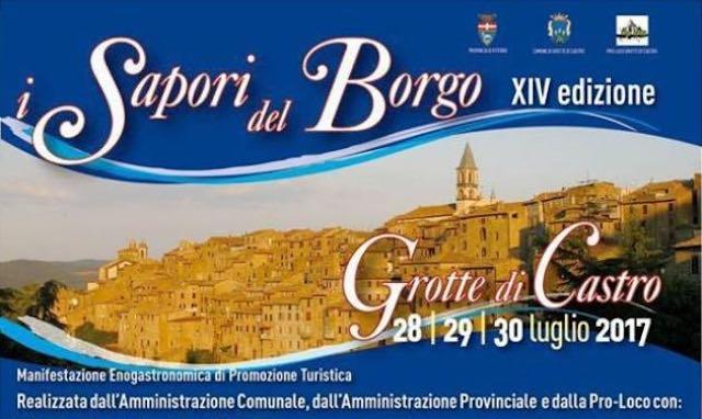 """Enogastronomia, spettacoli e visite al Museo. Torna """"I Sapori del Borgo"""""""