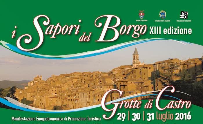 """Enogastronomia, spettacoli e passeggiate archeologiche. Torna """"I Sapori del Borgo"""""""