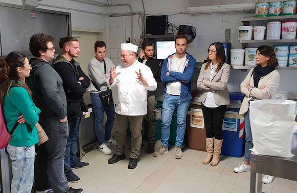 La Facoltà di Agraria visita il laboratorio della Gelateria Sarchioni