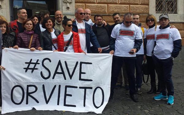 """#SaveOrvieto: """"Bene il No ai rifiuti di Perugia. Come mai la discarica si sta allargando?"""""""