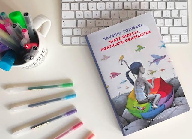 """Saverio Tommasi presenta il libro """"Siate ribelli, praticate gentilezza"""""""