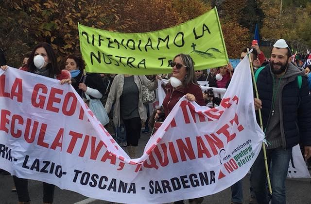 """Comitato Scansano Sos Geotermia: """"Il pericolo non va esportato in Maremma"""""""