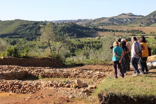 Coriglia, visita agli scavi e presentazione dei risultati della 12esima campagna archeologica