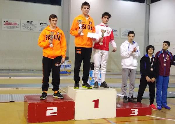 Trofeo Pegaso, ottimi risultati anche tra gli orvietani. Rocchigiani, Lo Conte e Tognarini sul podio.