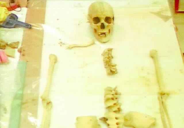 C'è una donna del VII secolo d.C. tra gli scheletri di Campo della Fiera