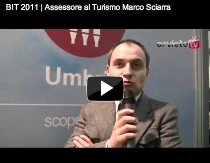 BIT 2011 | Assessore al Turismo Marco Sciarra